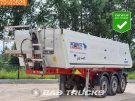 kipper oplegger Schmitz Cargobull SKI24 3 axles Liftachse 24m3 Alu-Kipper 2011