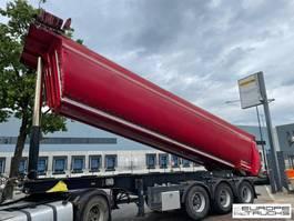 kipper oplegger Meiller KISA3 BPW - Belgium - Weigh system 2014