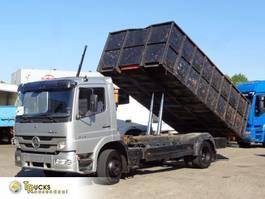 kipper vrachtwagen > 7.5 t Mercedes-Benz Atego 1524 + Manual + Kipper 1999