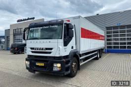 bakwagen vrachtwagen Iveco Stralis 260 AD260S31 Active Day, Euro 5, // Steel-Air // Manual Gearbox // Euro 5 2008