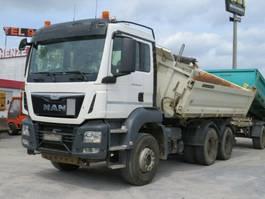 kipper vrachtwagen > 7.5 t MAN TGS 26 6x4 BB 3-Achs Kipper Meiller , Hands 2016