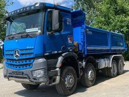 kipper vrachtwagen > 7.5 t Mercedes-Benz Arocs 4142 8x8 EURO6 Dreiseitenkipper 2017