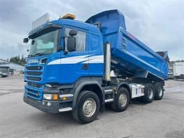 kipper vrachtwagen > 7.5 t Scania R520 8x4 Maansiirtoauto 2015