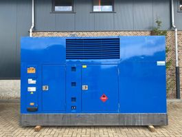 generator John Deere 6125 AF 001 De Wit 380 kVA Supersilent generatorset 2004