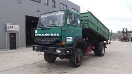 kipper vrachtwagen > 7.5 t Iveco Magirus 170 - 23 (4X4 / GRAND PONT / SUSPENSION LAMES / V8 / POMPE MANUELLE) 1997