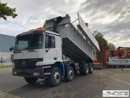 kipper vrachtwagen > 7.5 t Mercedes-Benz Actros 4140 8x8 - Full steel - Manual - 22 M3 - Big axles 1999