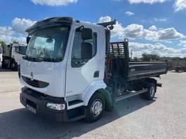 kipper vrachtwagen > 7.5 t Renault Midlum 2009