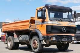 kipper vrachtwagen > 7.5 t Mercedes-Benz 1726 4x4 Dreiseitenkipper Meiller analog Tacho 1990
