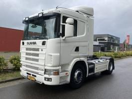 standaard trekker Scania R144 Low roof new apk mot - new hydrauliek!!!!!!