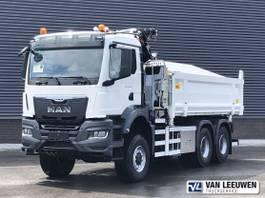 kipper vrachtwagen > 7.5 t MAN 33.430 6x6 BB WS | Wide Spread | Kipper | Epsilon Triple Z kraan 2021