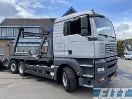 containersysteem vrachtwagen MAN TGA 26 .400 6X2-2 BL 18 Tons portaalarm systeem 2007