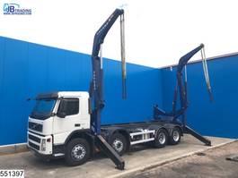 containersysteem vrachtwagen Volvo FM 410 8x4, Sideloader, EURO 5, Steel suspension 2010