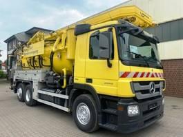kolkenzuiger vrachtwagen Mercedes-Benz Actros 2544 Kroll 13m³ Kombi/Recycler 2010