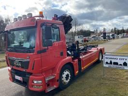 containersysteem vrachtwagen MAN TGM 18-340 4x2 BB 2016