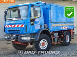 bakwagen vrachtwagen Iveco EuroCargo 140 140E180 4X4 Manual 4X4 Mobile Workshop Euro 4 2005