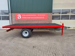platte aanhanger vrachtwagen Bakken / matriaal wagen