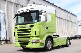 standaard trekker Scania R730 V8 E5 Retarder Standklima 2011