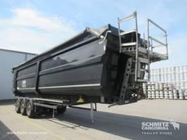 kipper oplegger Schmitz Cargobull Auflieger Kipper Stahlrundmulde 50m³ 2020
