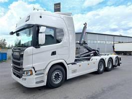 containersysteem vrachtwagen Scania G540 8x4 Tridem 2021