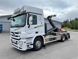 containersysteem vrachtwagen Mercedes-Benz Actros 2548 2548L-6X2/4500 2009