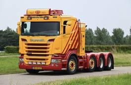 zware last trekker Scania Scania 8x4/4 150 ton / manual / retarder / leather R500 2006