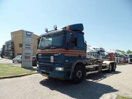 containersysteem vrachtwagen DAF CF 410 Hooklift Manual Gearbox Euro5 2008