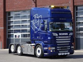 standaard trekker Scania R620 Topline 6x2 - Show truck - Custom interior - Full air - Manual - PTO/Hydraulic 2012