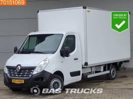 gesloten bestelwagen Renault 2.3 DCI 130PK Bakwagen Laadklep Airco Meubelbak Euro6 A/C 2019