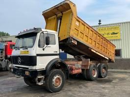 kipper vrachtwagen > 7.5 t Mercedes-Benz 2632 Kipper/Dumper 6x4 V10 ZF Good Condition 1990