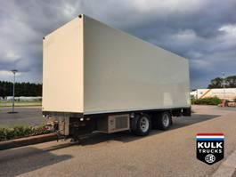koelwagen aanhanger DRACO MZS 220 / KOELAANHANGER / TRS / LAADKLEP / NETTE STAAT 2001