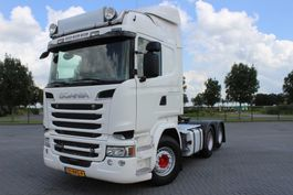 zware last trekker Scania R580 6X2 EURO 6 HYDR MANUAL RETARDER HUBREDUCTION 2016