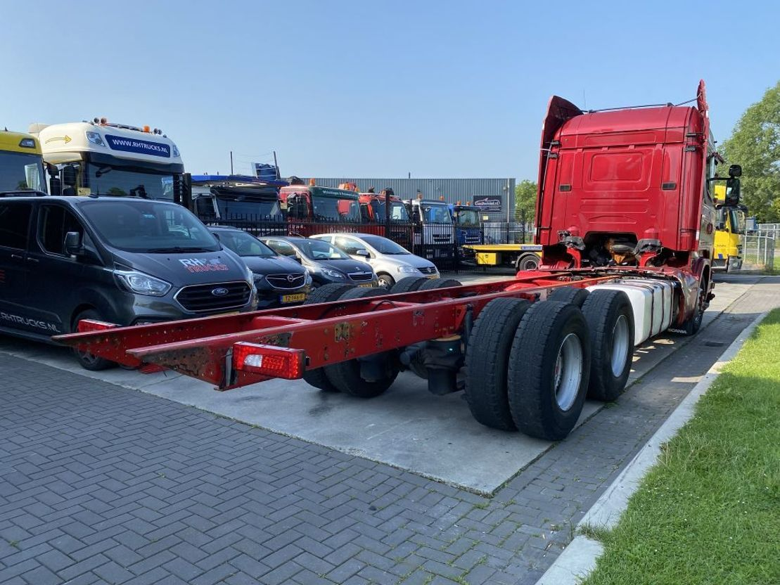 chassis cabine vrachtwagen Scania R730 V8 6X4 2014