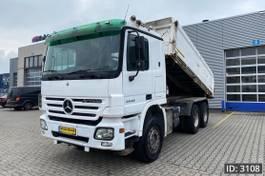 kipper vrachtwagen > 7.5 t Mercedes-Benz Actros 2646 F04, Euro 3, // Full Steel // EPS // Big Axle // Top condition, Intarder 2004
