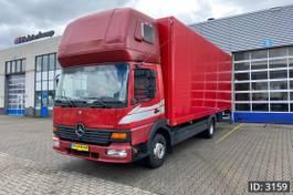 bakwagen vrachtwagen Mercedes-Benz Atego 918 Megaspace, Euro 3, // Full steel // Manual gearbox // Sleeper Cab // TOP... 1998