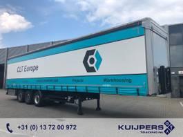 schuifzeil oplegger Kögel SN 24 Coil / 3x SAF / 2x Lift axle / Top condition!! 2017