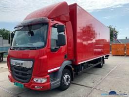 bakwagen vrachtwagen DAF LF 220 FA Topstaat Bakwagen met laadklep 2014
