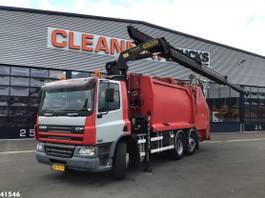 vuilkar camion DAF CF 250 FAN 75 Palfinger 20 ton/meter laadkraan 2006