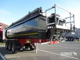 kipper oplegger Schmitz Cargobull Auflieger Kipper Stahlrundmulde 24m³ 2018