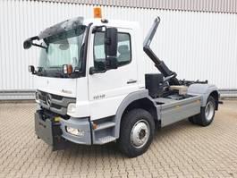 containersysteem vrachtwagen Mercedes-Benz Atego 1018 A 4x4 Atego 1018 A 4x4, Winterdienstausstattung, ADR 2010