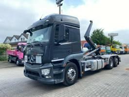 containersysteem vrachtwagen Mercedes-Benz Actros 2543 neu L 6x2 Abrollkipper Meiller, Funk 2014