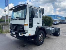 chassis cabine vrachtwagen Volvo FL 6 MANUAL STEEL SUSPENSION 1992