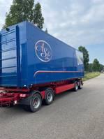 kipper aanhanger Bulthuis SVF Kipper 60 kuub 4 axle / 3 sides / bpw 2013
