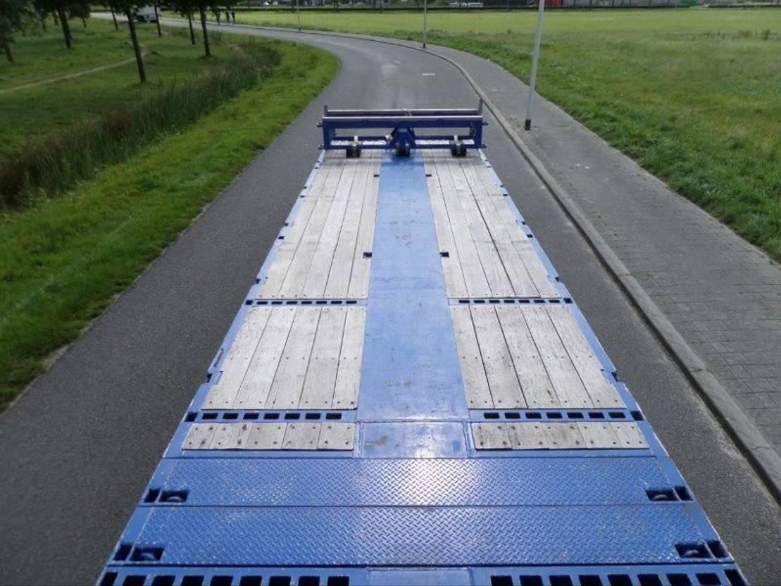 semi dieplader oplegger Nooteboom MCO-73-04V 2015