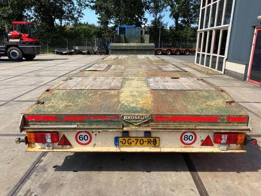 semi dieplader oplegger Broshuis 31N5-EU 2001