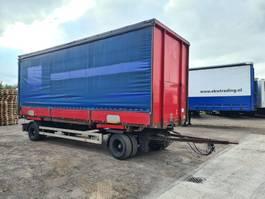 schamelaanhanger vrachtwagen Krone BDF aanhanger incl bak 2005