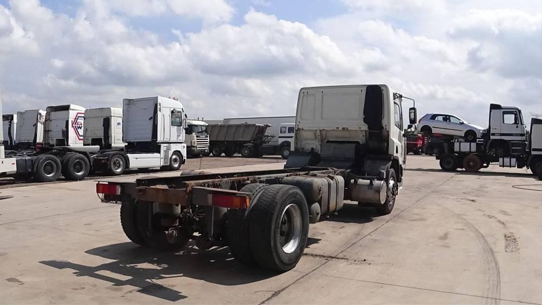 chassis cabine vrachtwagen DAF 65 ATI 210  (MANUAL GEABROX / MANUAL PUMP / EURO 2) 1996