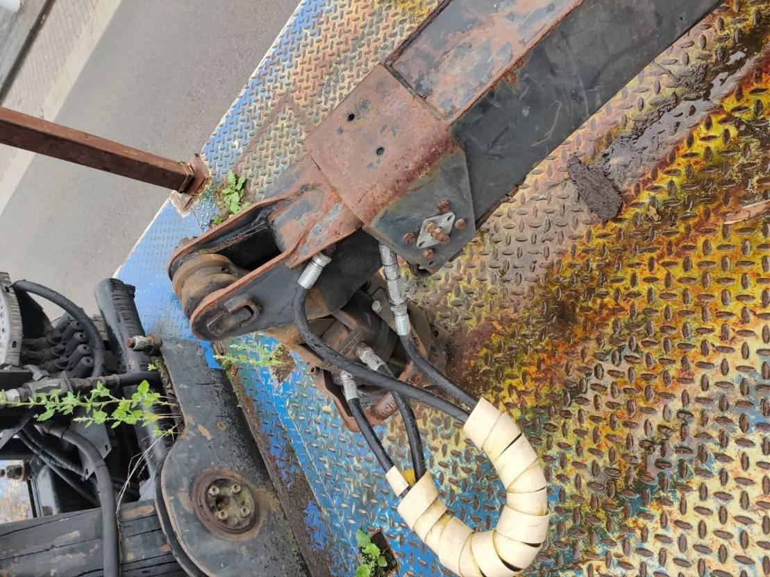houtoplegger Desot Plateau freins tambours / Flatbed drumbrakes 2002