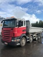 kipper vrachtwagen Scania R480 R 480 10X4 2009
