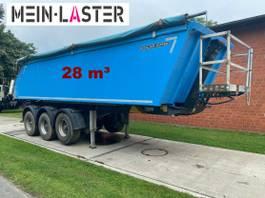 kipper oplegger Meiller Alu Stahl Mulder 28 m³ Fertiger NL 29.300 kg 2013