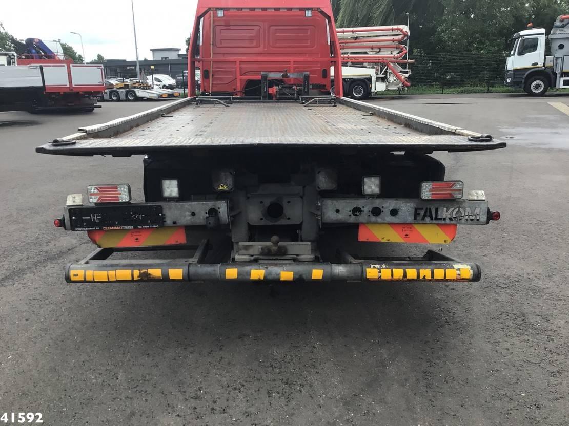 takelwagen-bergingswagen-vrachtwagen Mercedes-Benz 924 Falkom abschlepp 2010